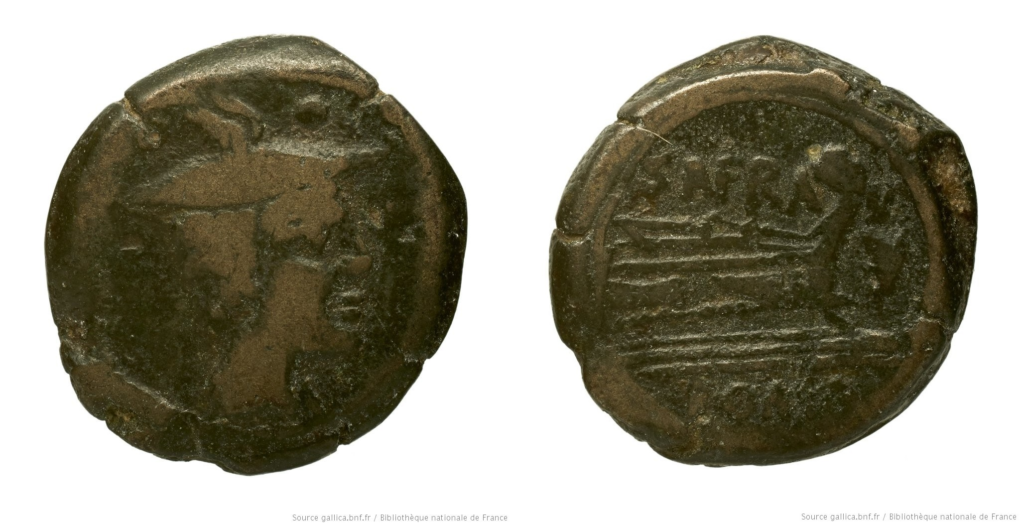 845AF – Sextans Afrania – Spurius Afranius