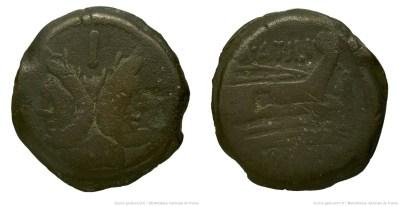 865AT – As Atilia – Marcus Atilius Saranus