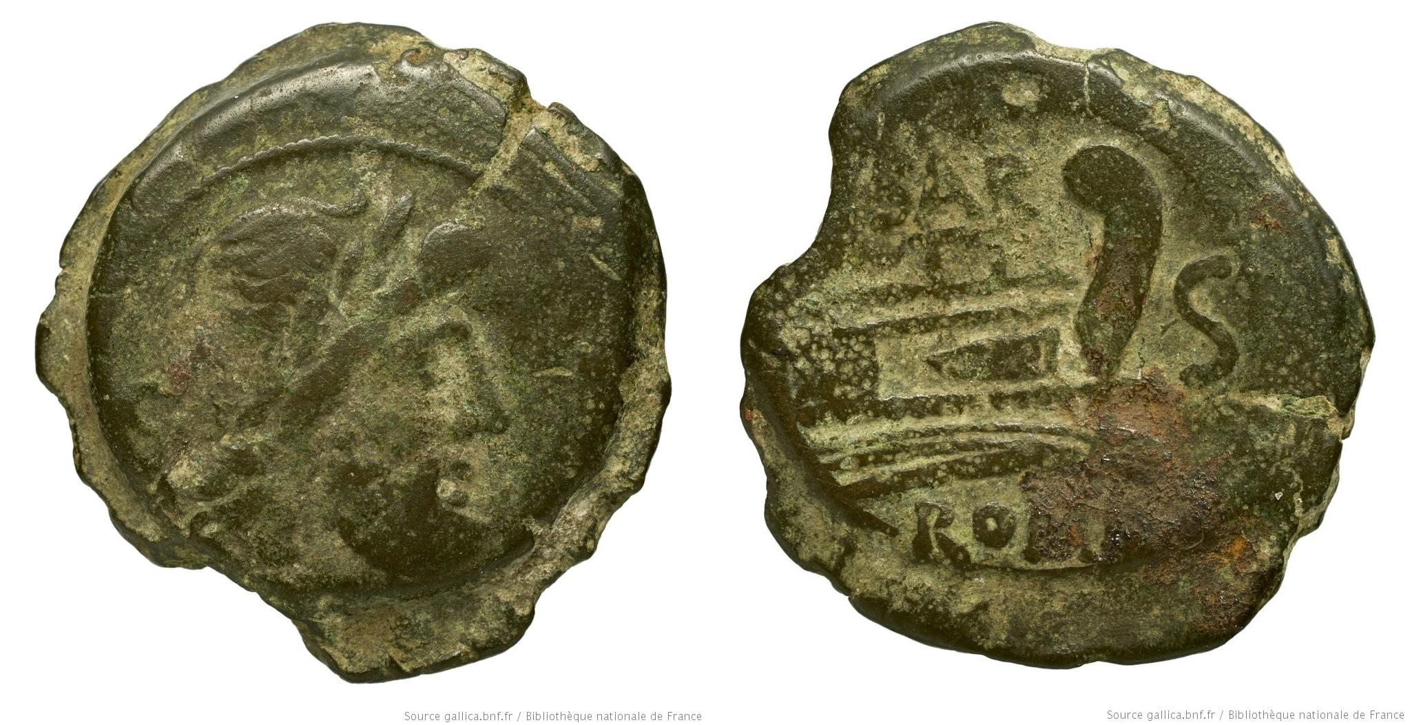 803AT – Semis Atilia – Sextus Atilius Serranus