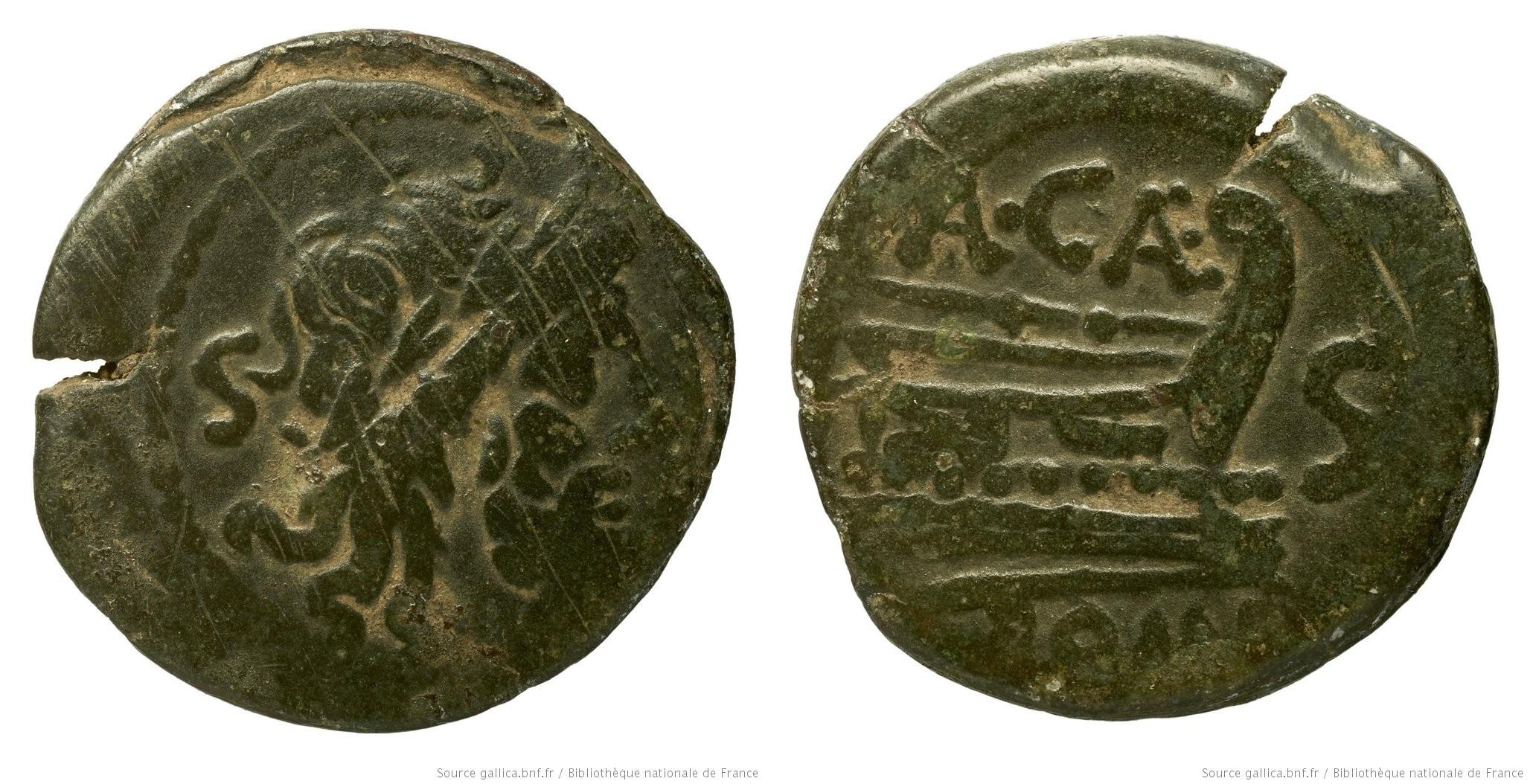677CA – Semis Caecilia – Aulus Caecilius