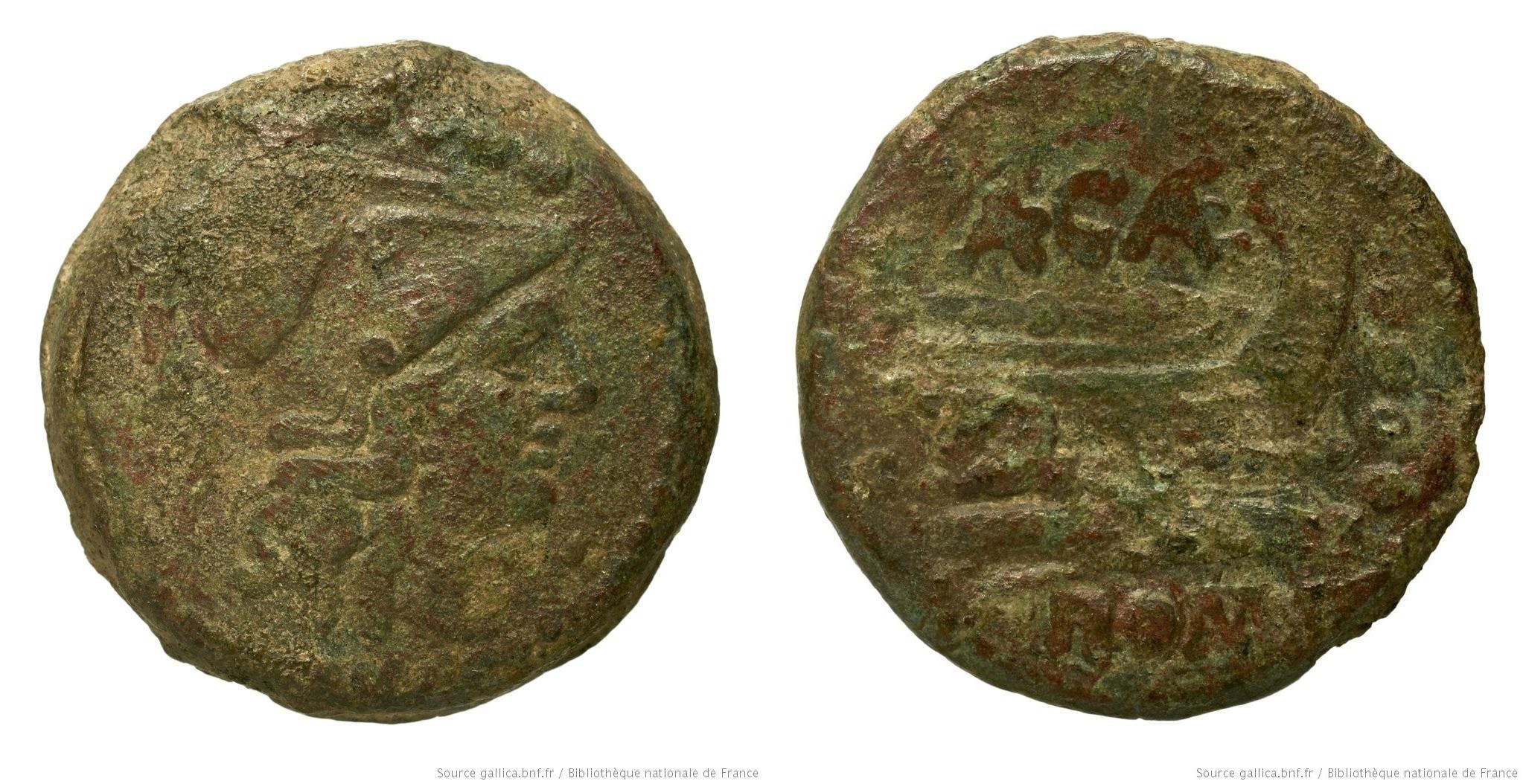 678CA – Triens Caecilia – Aulus Caecilius