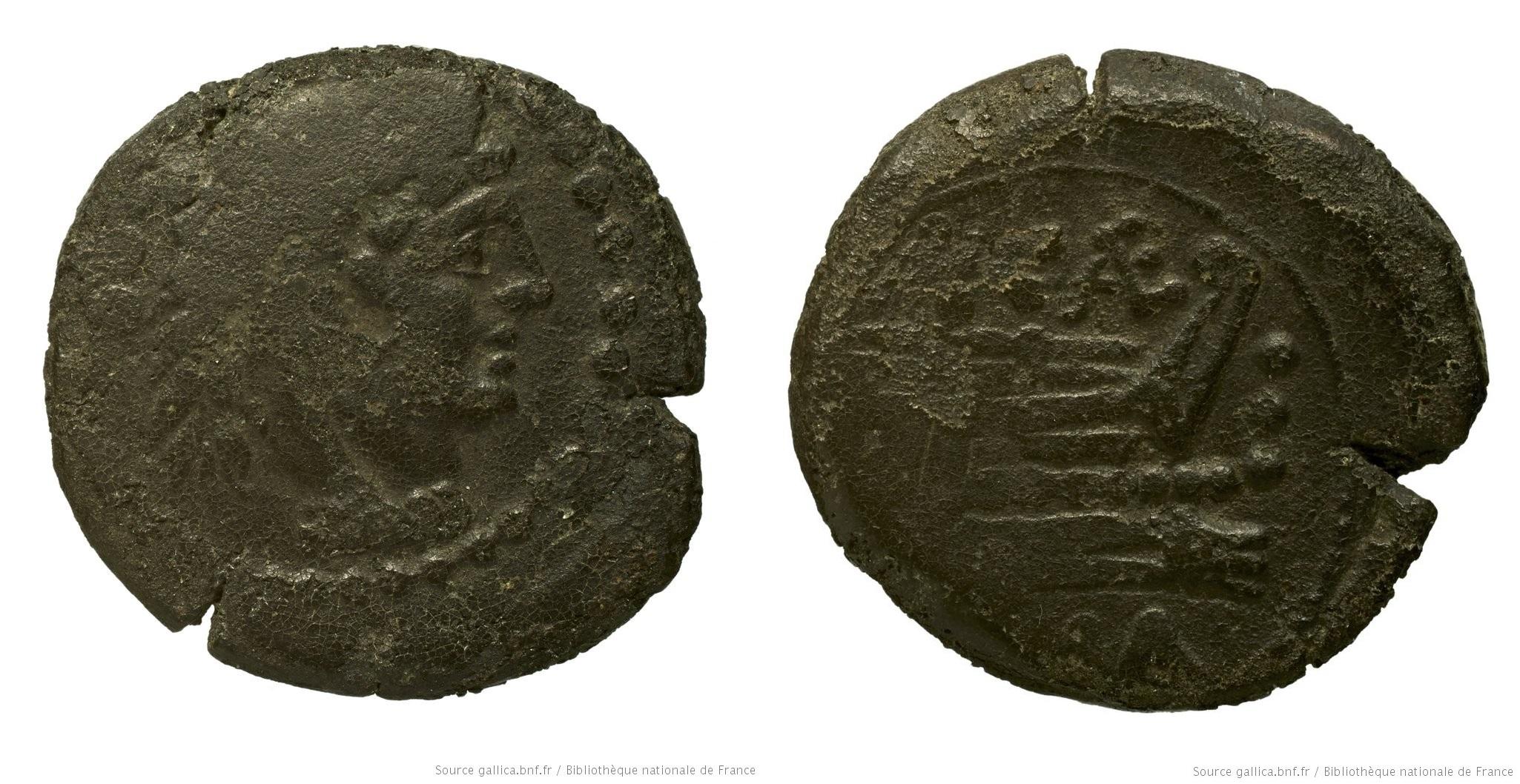 679CA – Quadrans Caecilia – Aulus Caecilius