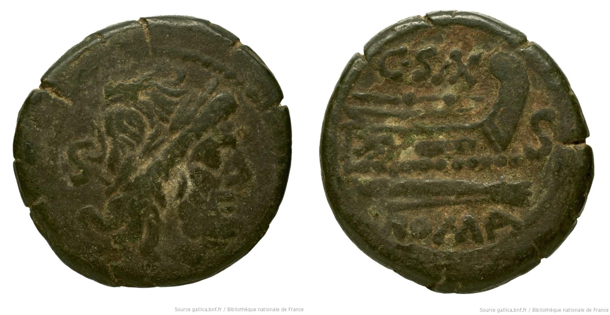 672CL – Semis Cluvia – C. Cluvius Saxula