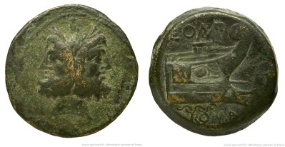 1172PO – As Pomponia – Lucius Pomponius Molo