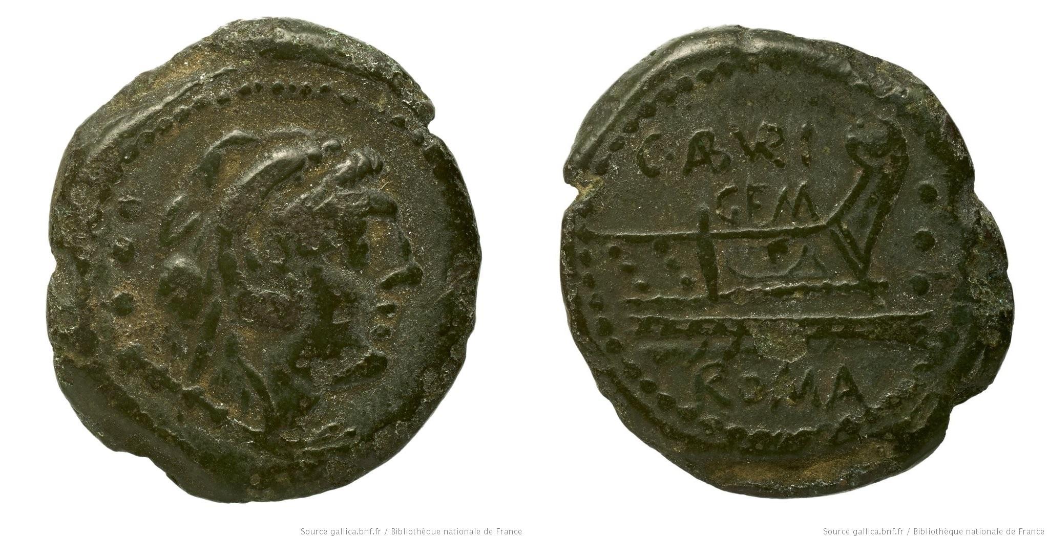 959AB – Quadrans Aburia – Caius Aburius Geminus
