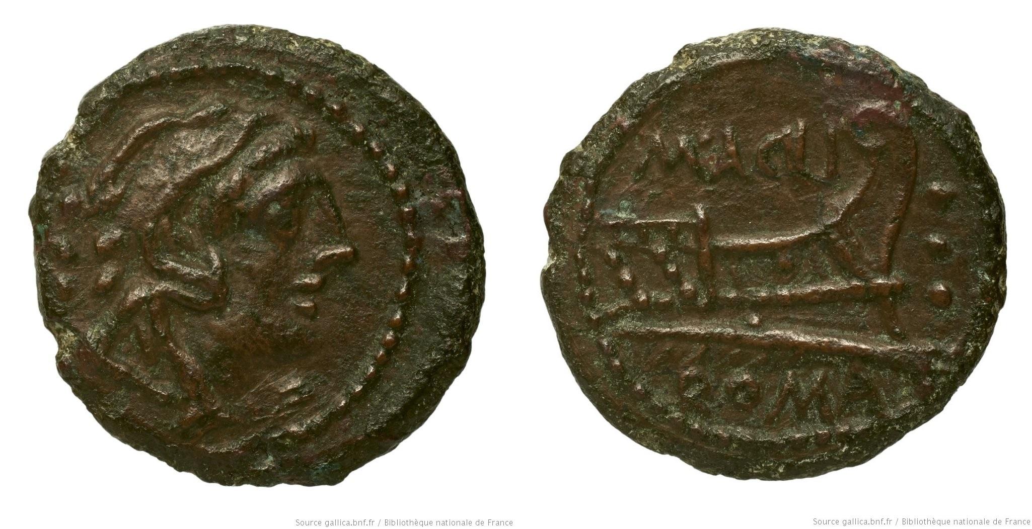 You are currently viewing 996AC – Quadrans Acilia – Marcus Acilius