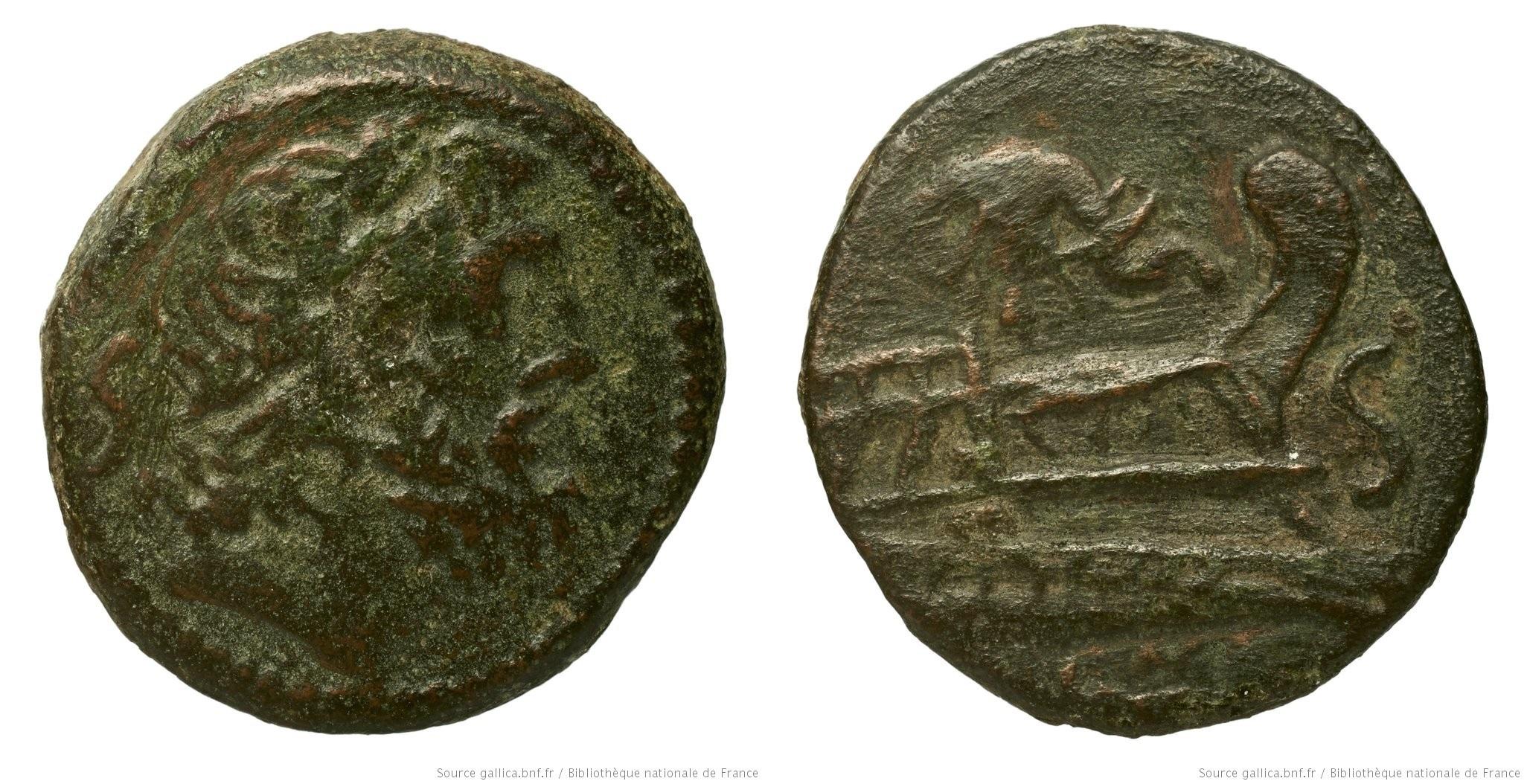 1015CA – Semis Caecilia – Lucius Cæcilius Metellus