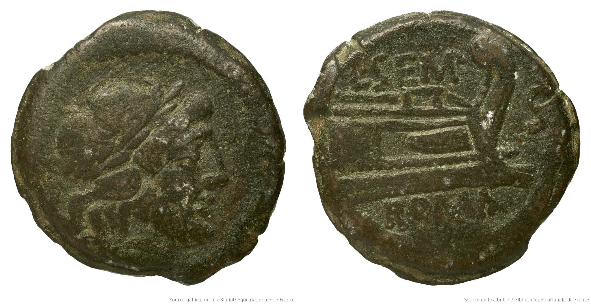 880SE – Semis Sempronia – Lucius Sempronius Pitio