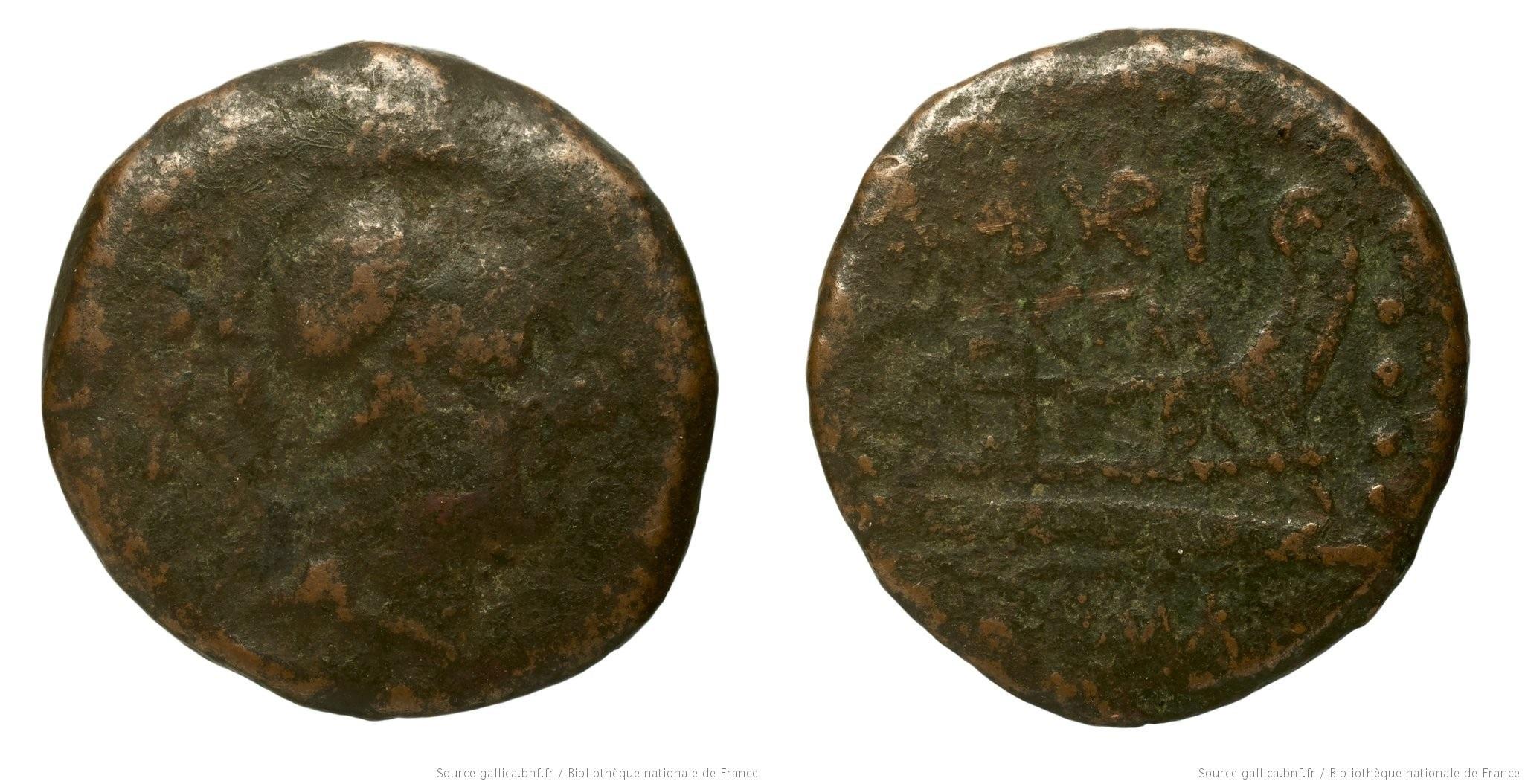 958AB – Triens Aburia – Caius Aburius Geminus