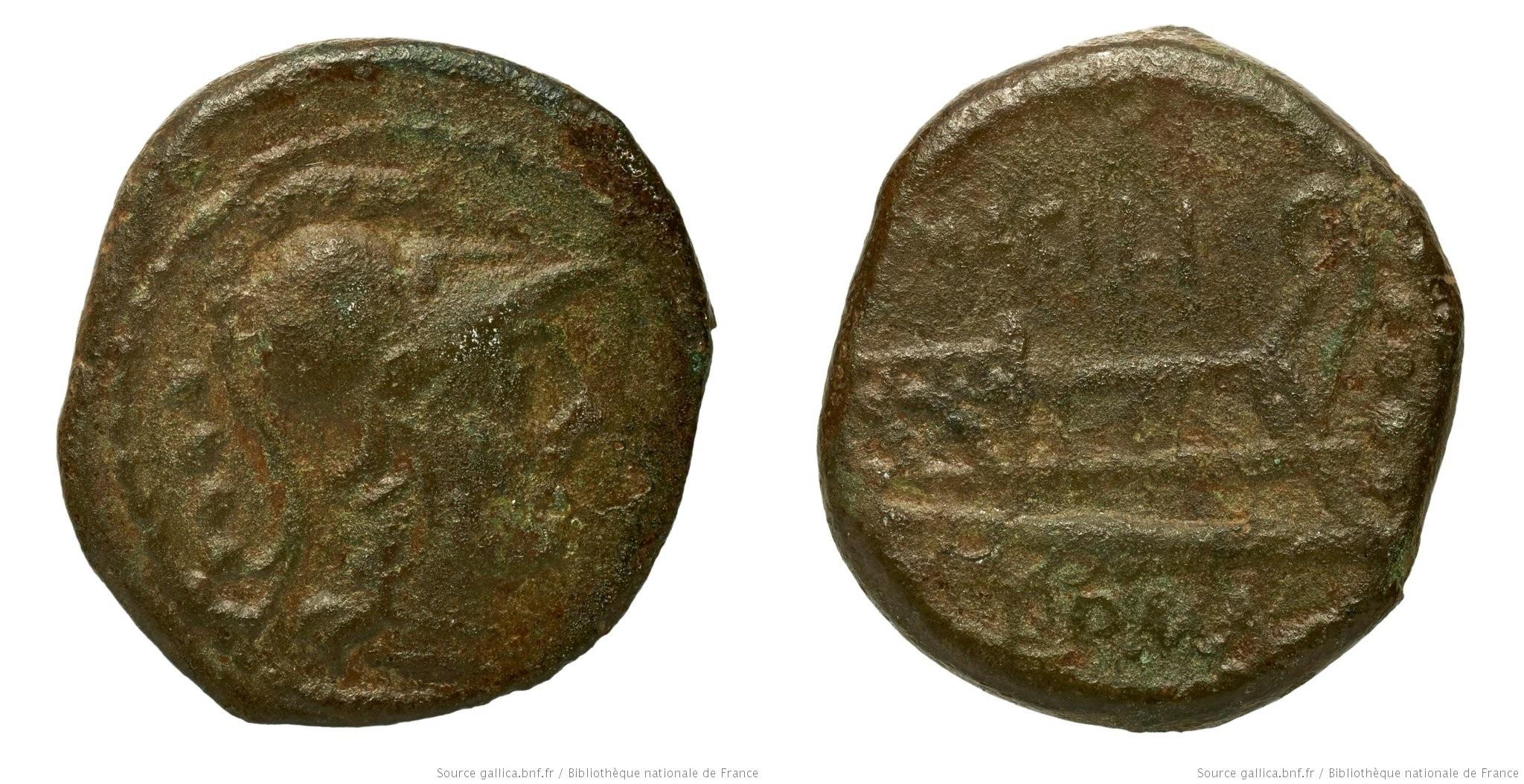 995AC – Triens Acilia – Marcus Acilius