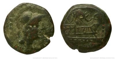1016CA – Triens Caecilia – Lucius Cæcilius Metellus
