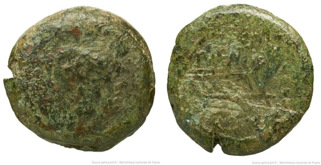 Read more about the article 978MA – Triens Maenia – Publius Mænius Antiaticus