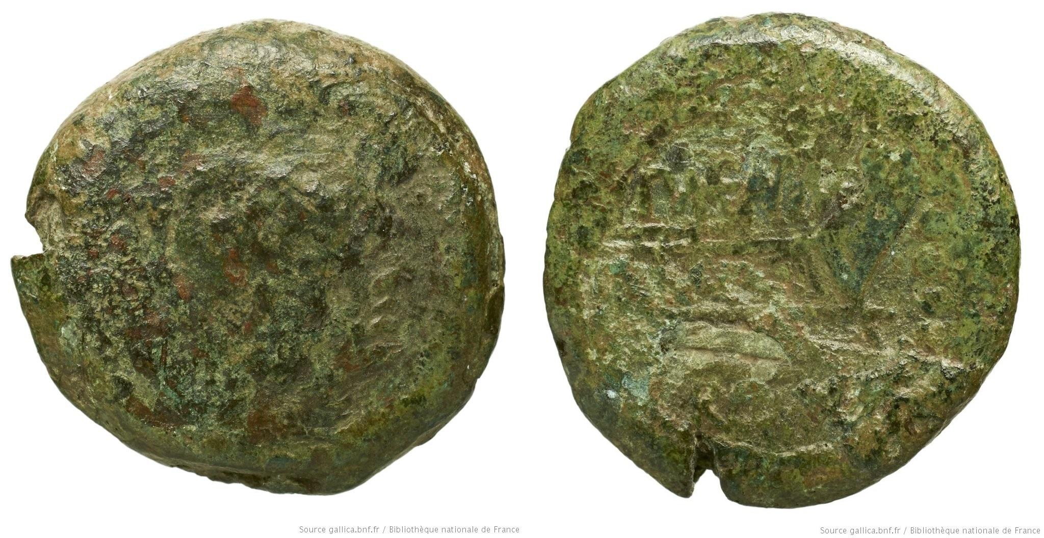 978MA – Triens Maenia – Publius Mænius Antiaticus