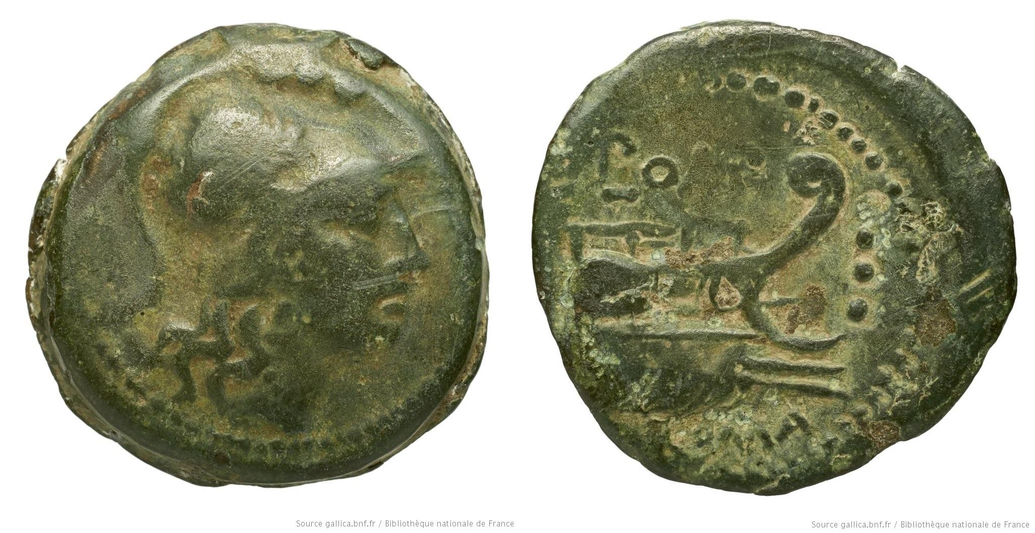 1174PO – Triens Pomponia – Lucius Pomponius Molo