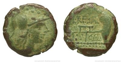 943TR – Triens Trebania – Lucius Trebanius
