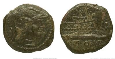 951MI – Once Minucia –  Caius Minucius Augurinus