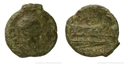 1210CA – Quadrans Calpurnia – Lucius Calpurnius Piso Frugi