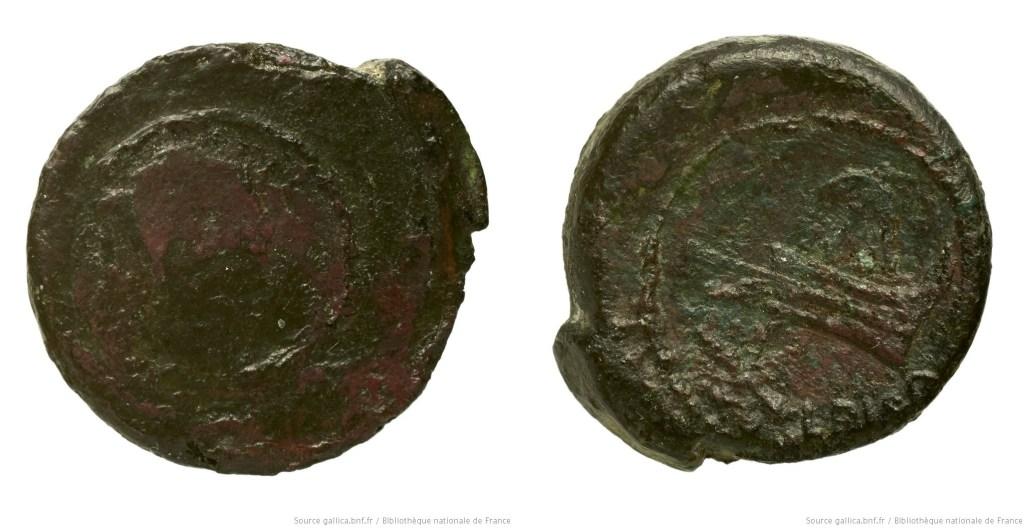 1211CA – Quadrans Calpurnia – Lucius Calpurnius Piso Frugi