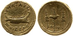Read more about the article 1752AN – Aureus Marc Antoine – Marcus Antonius