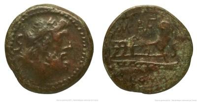 907AU – Semis Aufidia – M. Aufidius Rusticus