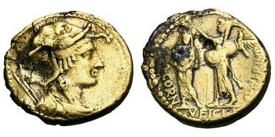 1662CO – Aureus Cornuficia – Quintus Cornuficius