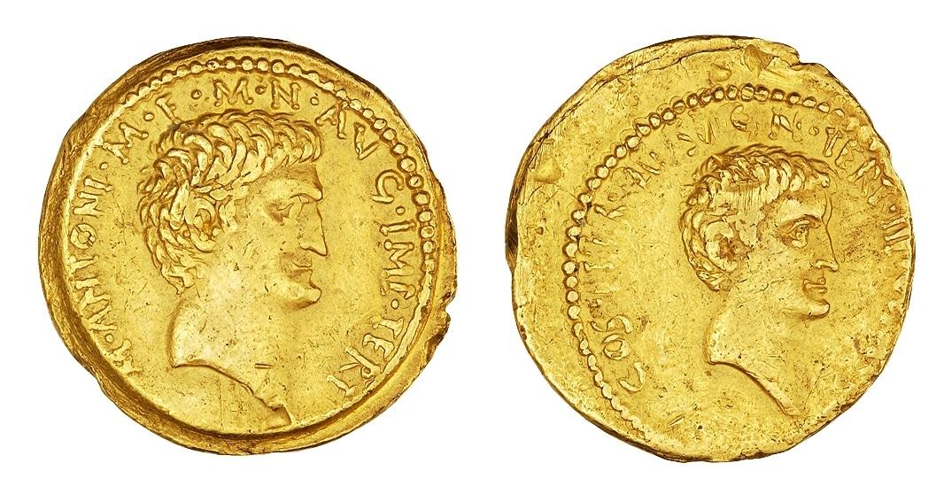 1746AN – Aureus Marc Antoine – Marcus Antonius