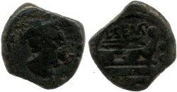 883SE – Sextans Sempronia – Lucius Sempronius Pitio