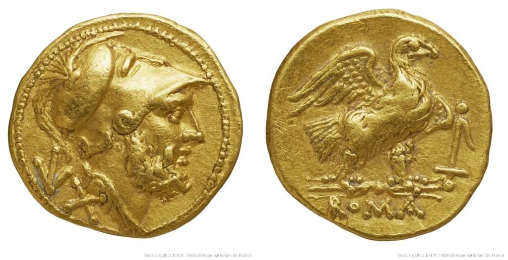 175AN – Aureus de 60 As Anonyme