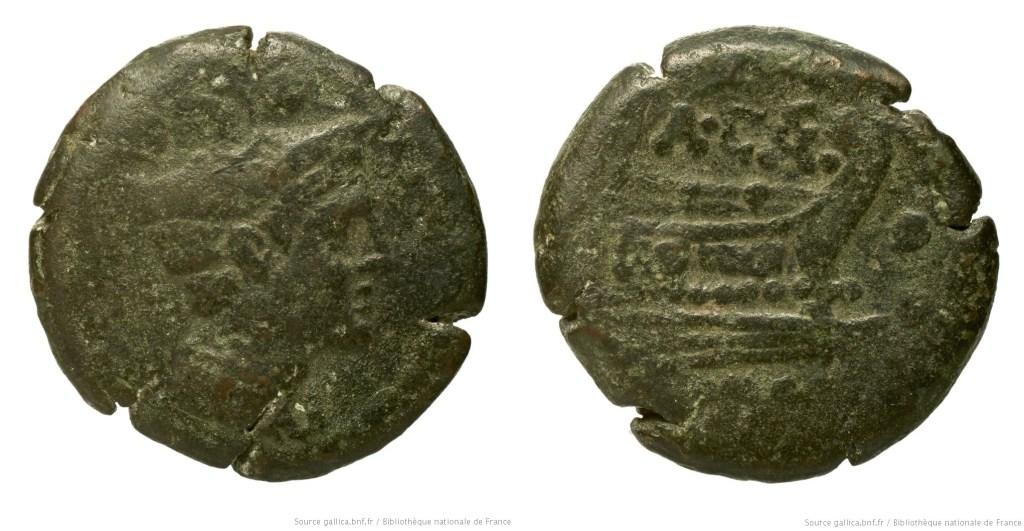 680CA – Sextans Caecilia – Aulus Caecilius