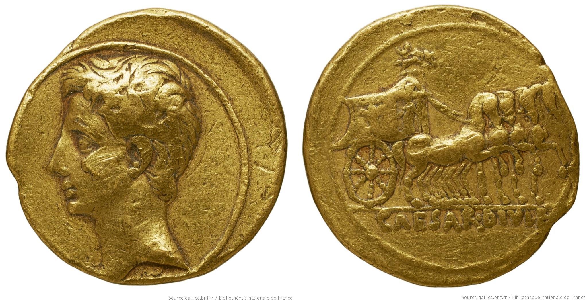 2012AU – Aureus Octave – Caius Julius Cæsar Octavianus