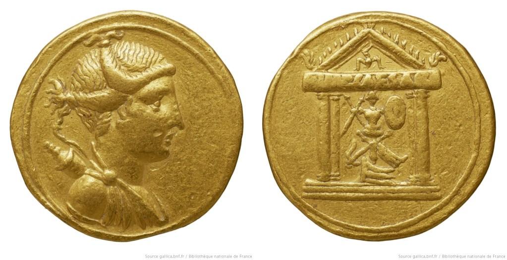 2028AU – Aureus Octave – Caius Julius Cæsar Octavianus