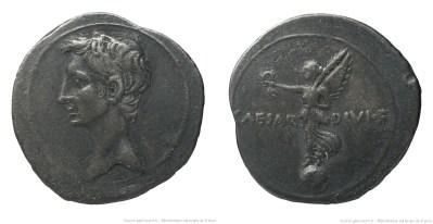 2007AU – Denier Octave – Caius Julius Cæsar Octavianus