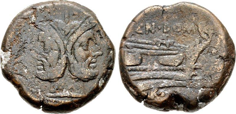 599DO – As Domitia – Cnaius Domitius Ahenobarbus