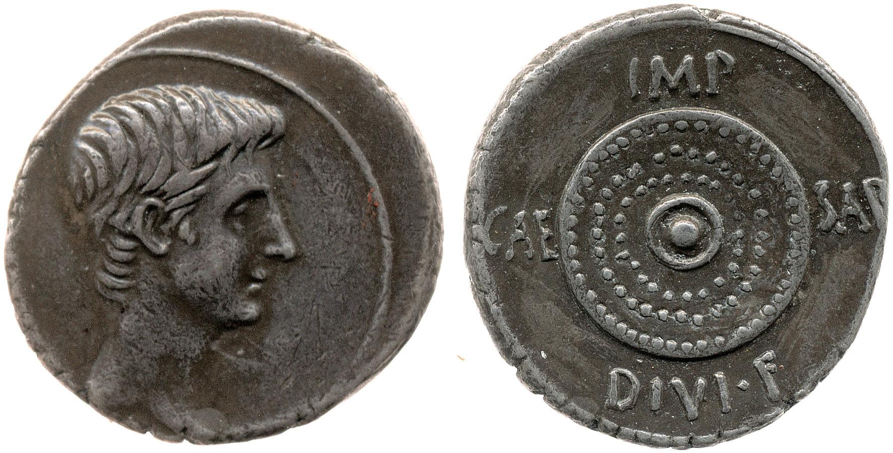 You are currently viewing 2035AU – Denier Octave – Caius Julius Cæsar Octavianus