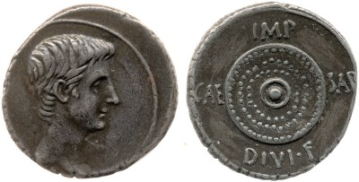 2035AU – Denier Octave – Caius Julius Cæsar Octavianus