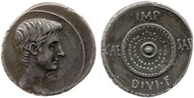 Read more about the article 2035AU – Denier Octave – Caius Julius Cæsar Octavianus