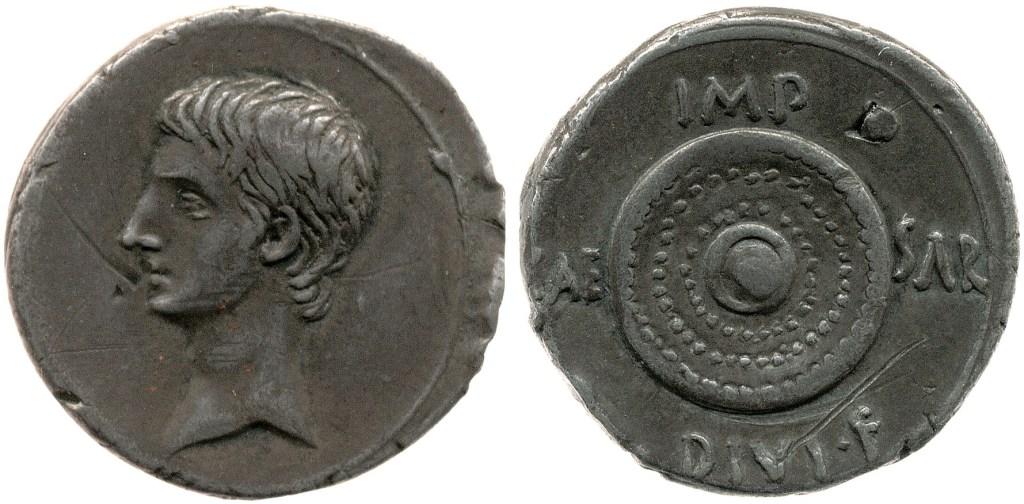 2036AU – Denier Octave – Caius Julius Cæsar Octavianus