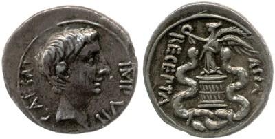 2034AU – Quinaire Octave – Caius Julius Cæsar Octavianus