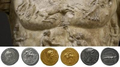 Les monnaies d'Octave