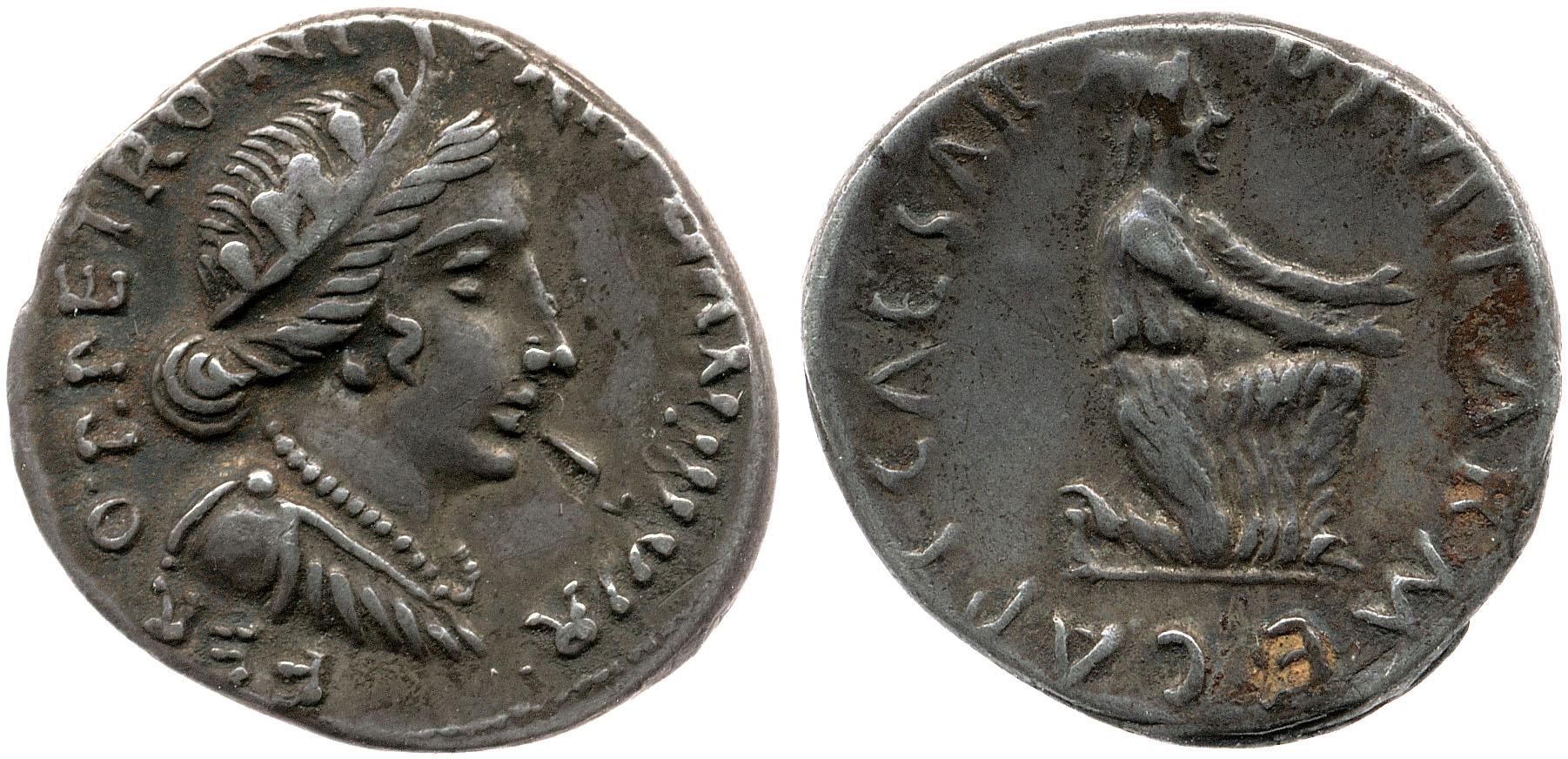 2048AU – Denier Auguste – P.Petronius Turpilianus