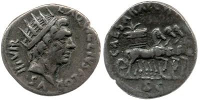 Read more about the article 2060AU – Denier Auguste – L.Aquillius Florus