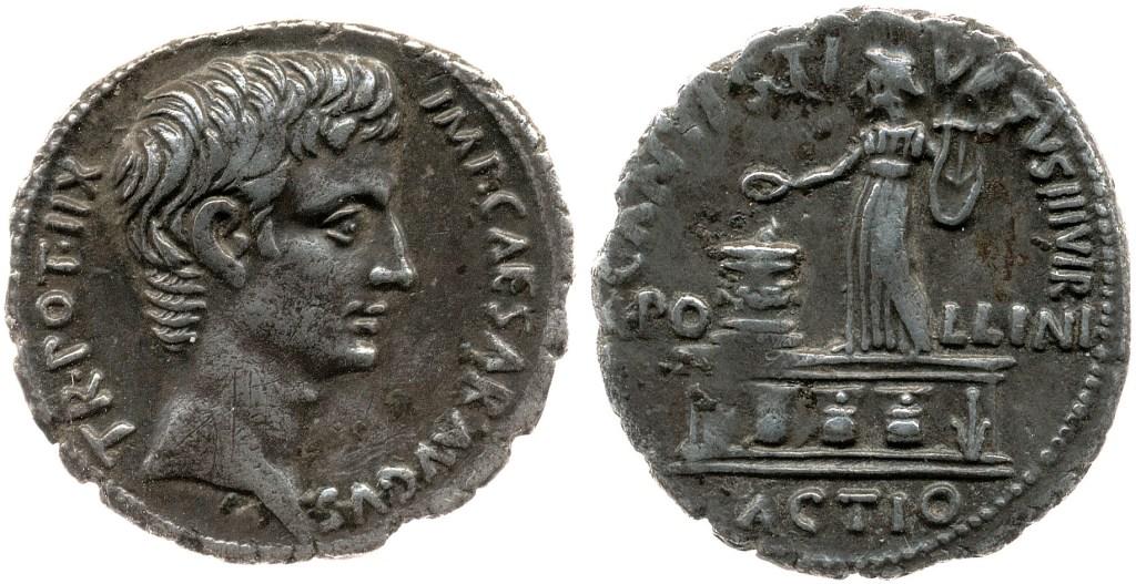 2112AU – Denier Auguste – C. Antistius Vetus