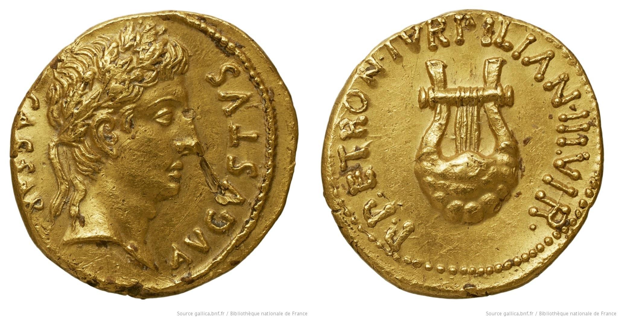 2050AU – Aureus Auguste – P.Petronius Turpilianus