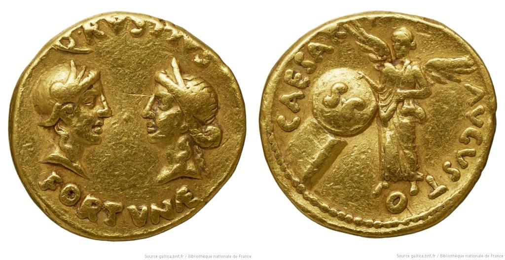 2078AU – Aureus Auguste – Quintus Rustius