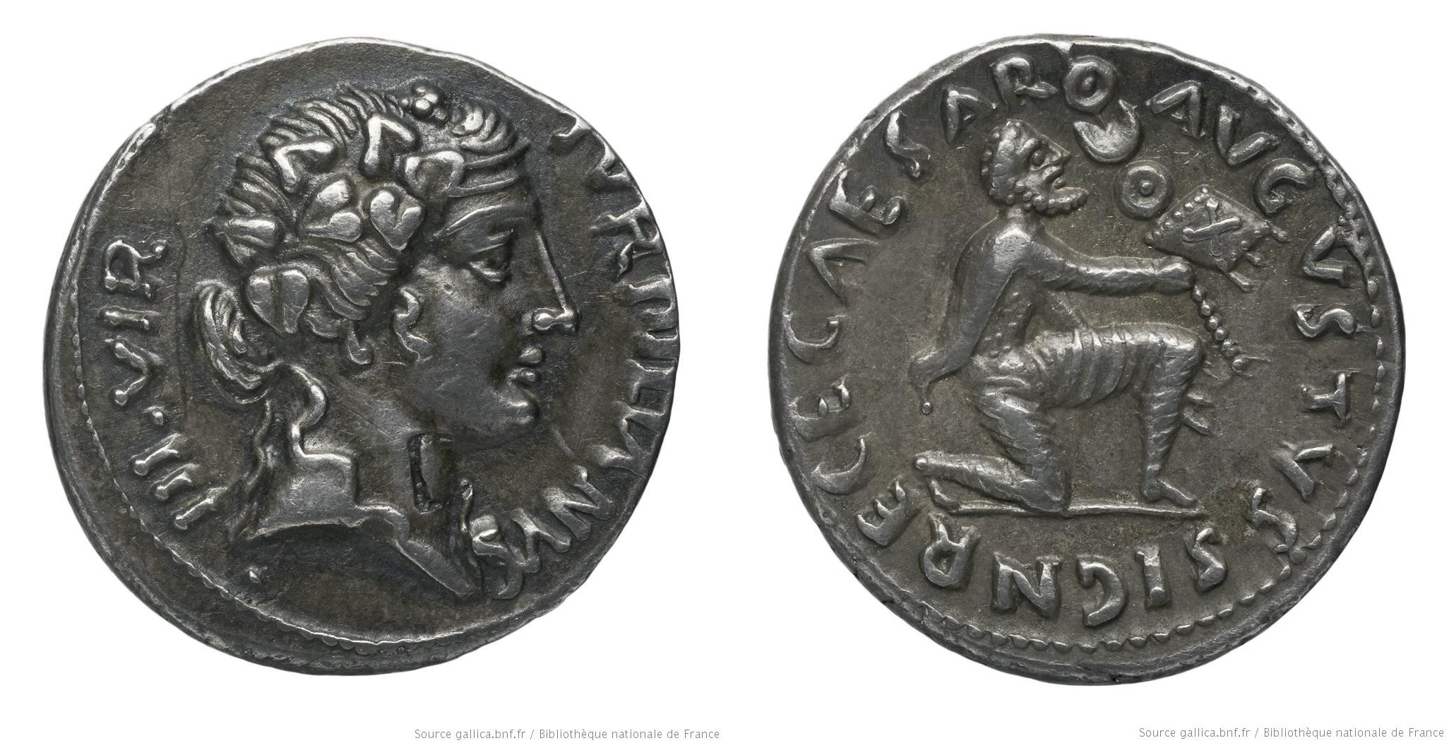 You are currently viewing 2044AU – Denier Auguste – P.Petronius Turpilianus
