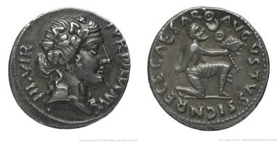 2044AU – Denier Auguste – P.Petronius Turpilianus