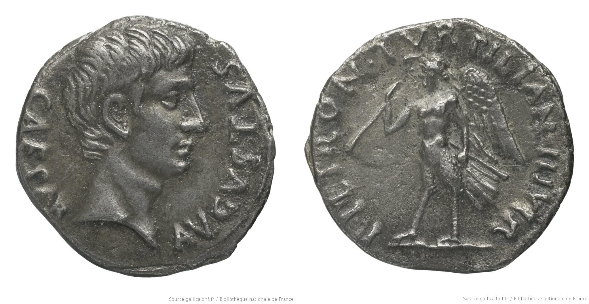 2053AU – Denier Auguste – P.Petronius Turpilianus