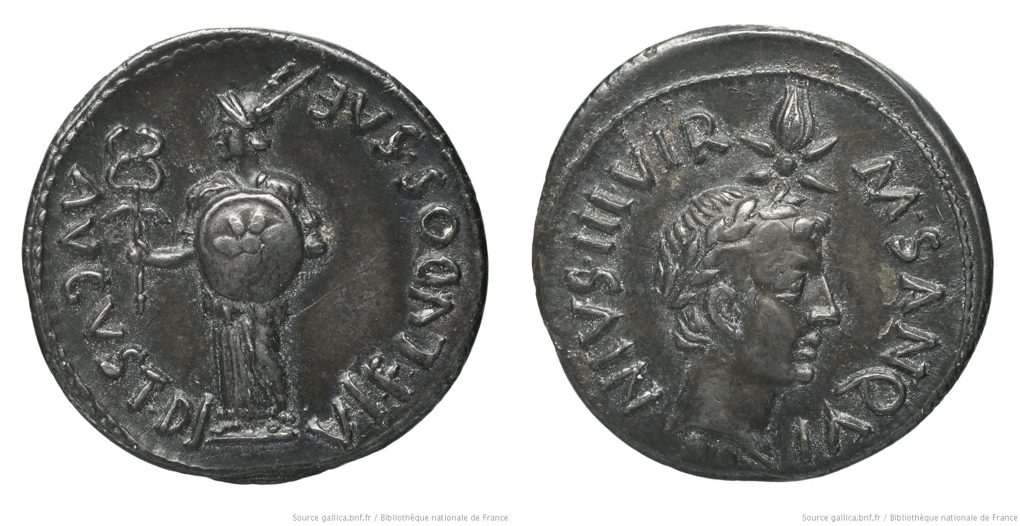 2088AU – Denier Auguste – M.Sanquinius