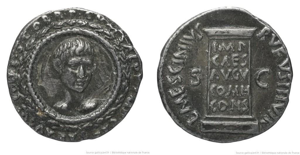 2104AU – Denier Auguste – L. Mescinius Rufus