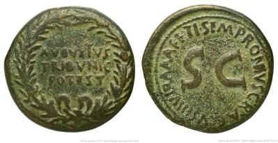 2097AU – Dupondius Auguste – Ti. Sempronius Graccus